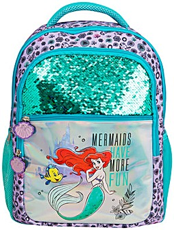 Disney Ariel Premium Sequin Backpack