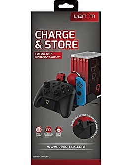 Venom Switch Multi Charge and Store Dock