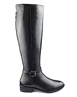 Fleur Leather Boots Extra Curvy Plus Extra Wide EEE Fit