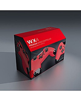 Gioteck WX4 Wired Red Controller Ninten