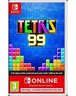 Tetris 99 Inc Online Subscription Switch