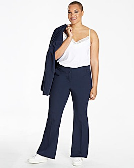 Tailored Bootcut Trousers Long