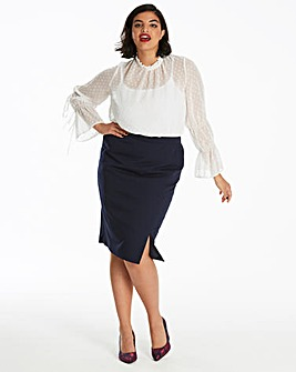 Tailored Pencil Skirt