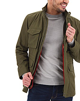 Olive 2 in 1 Four Pocket Jacket