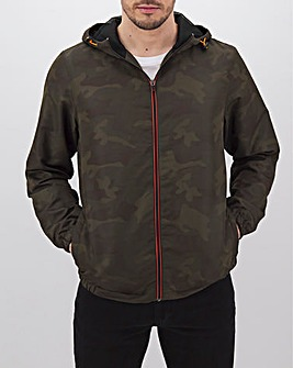 Camo Lightweight Hooded Jacket