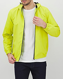 Lime Lightweight Hooded Jacket