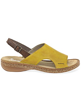 Rieker Amport Womens Sling Back Sandals