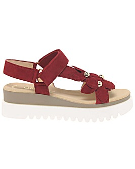 Gabor Bryce Flower Trim Womens Sandals
