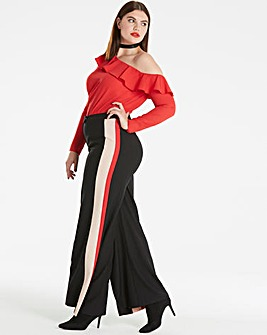 Simply Be Side Stripe Trouser