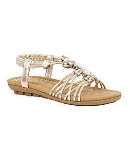 Lotus Marci Flat Open-Toe Sandals
