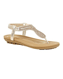 Lotus Delia Toe-Post Sandals