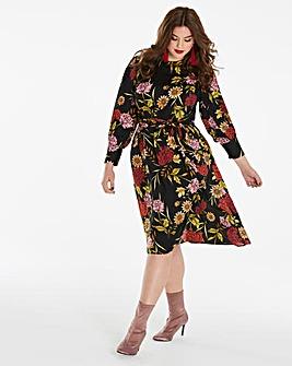 Simply Be Oriental Kimono Dress