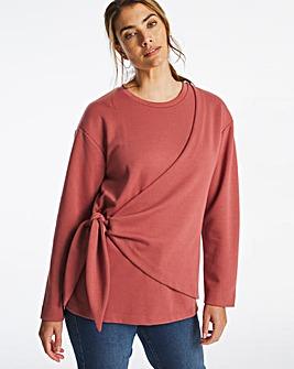 Tie Knot Sweatshirt