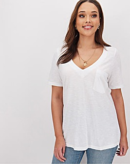 White Utility T Shirt