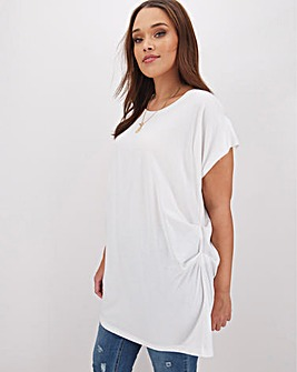 Oversized Draped T-Shirt