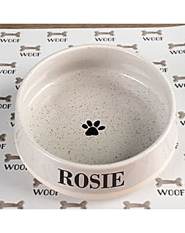 Personalised Embossed Pet Bowl Small