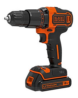 Black and Decker 18V Combi Drill
