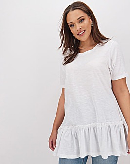White Tiered T-Shirt