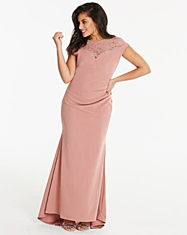 Simply Be By Night Fishtale Maxi