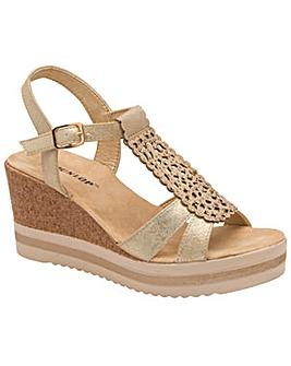 c70fbea3056b Dunlop Kassie women · Dunlop Kassie women s wedge sandals