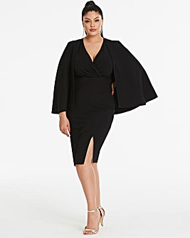 Simply By By Night Cape Dress