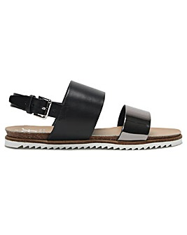 DF By Daniel Slanny Two Bar Sandals