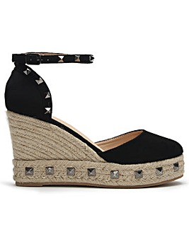 DF By Daniel Wittie Studded Espadrilles