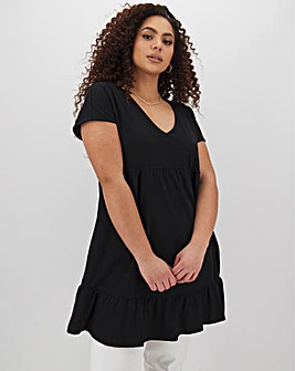 Black Tiered Tunic