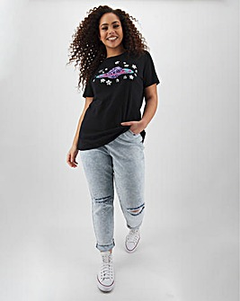 Black Planet Sequin T Shirt