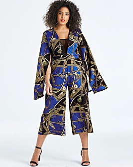 AX Paris Curve Printed Jumpsuit