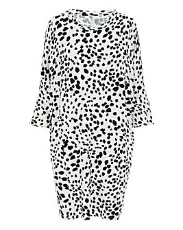 Dalmation Oversized Side Pocket Tunic