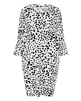 Dalmation Oversized Side Pocket Tunic