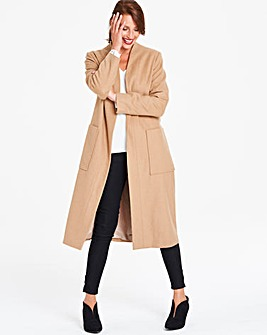 Helene Berman Wrap Longline Coat
