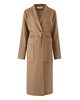 Helene Berman Wrap Longline Coat