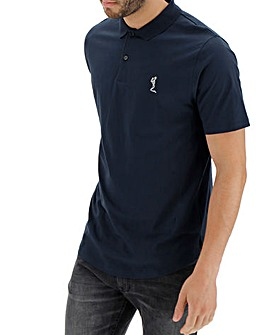 Religion Curved Hem Polo Long