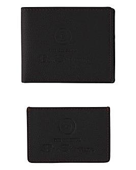 Ben Sherman Leather Wallet & Card Holder