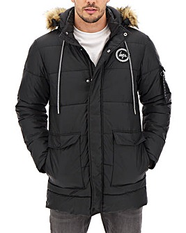 Hype Black Explorer Jacket