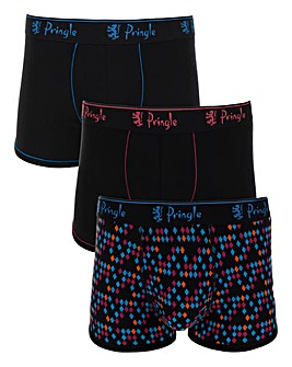 Pringle 3 Pack Fashion Trunks