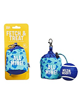 Fetch and Treat Pouch With Ball