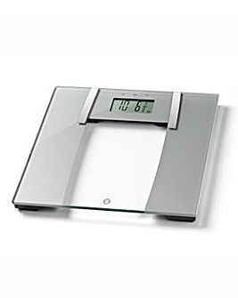 Wellness That Works Ultra Slim Glass Body Analyser Scale