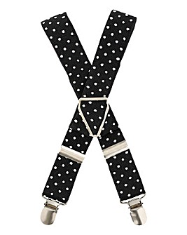 Kensington Polka Dot Braces