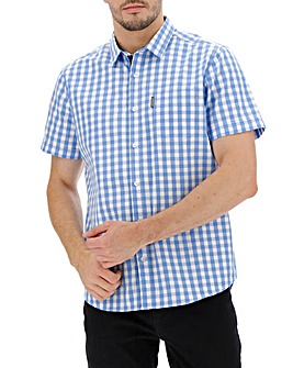 Peter Werth Gingham Shirt Long