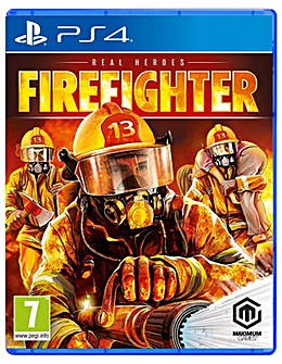 Real Heroes Firefighter PS4