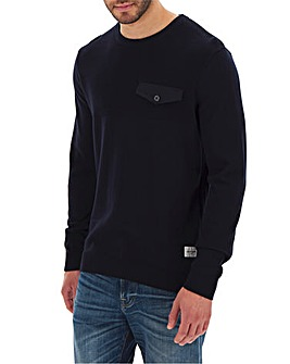 Jack & Jones Pocket Knit Crew