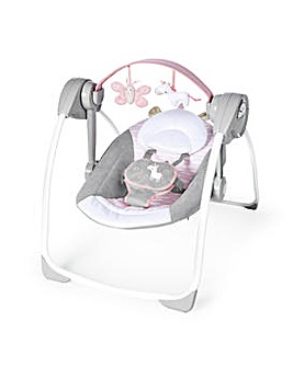 Ingenuity Comfort 2 Go Portable Swing - Flora the Unicorn