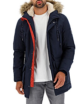 Jack & Jones Navy Explore Parka