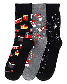 Jack & Jones Christmas Socks Gift Box