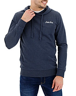 Jack & Jones Navy Galileo Sweat Hood