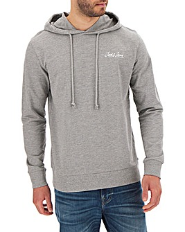 Jack & Jones Grey Galileo Sweat Hood