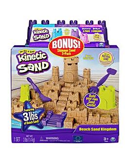 Kinetic Sand Kingdom Multipack